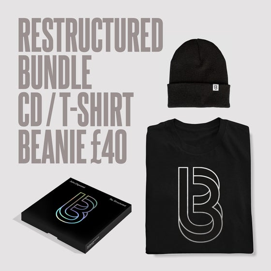 Image of Re:Structured CD, T-shirt + Beanie Deal