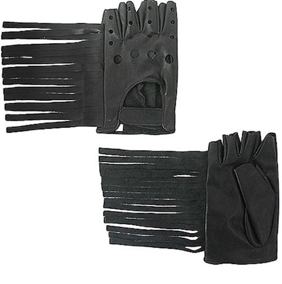 Image of Bat Girl Moto Gloves