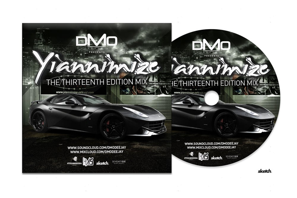 Image of Yiannimize Mix Part 13 Tracked CD