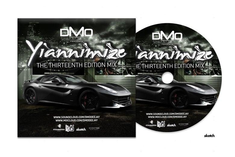 Image of Yiannimize Mix Part 13 Tracked CD