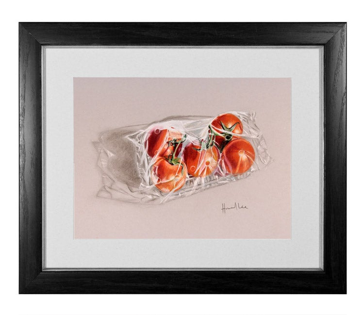 Image of Packed Tomatoes Signed Print