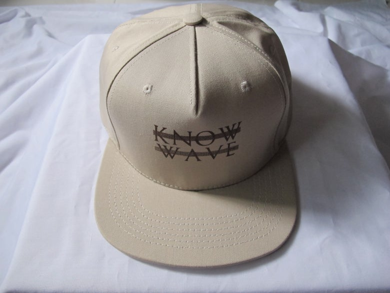 Image of Know Wave - Cotton Baseball Cap (Tan)