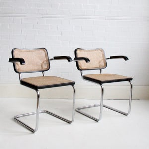 Image of A pair of cesca chairs
