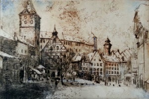 Image of Winter in Nuremburg, Germany