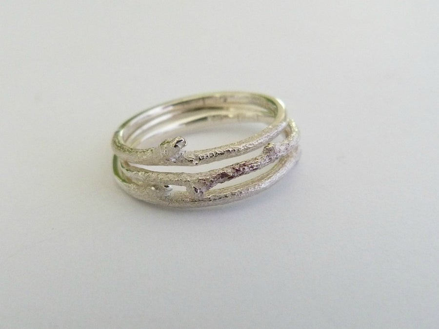 Image of The Botanist Ring - Silver