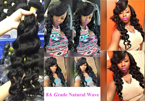 Image of 3pcs REAL Grade 8A Brazilian remy Hair SALE!!! DONT MISS IT!! 100%  Human Hair weaves