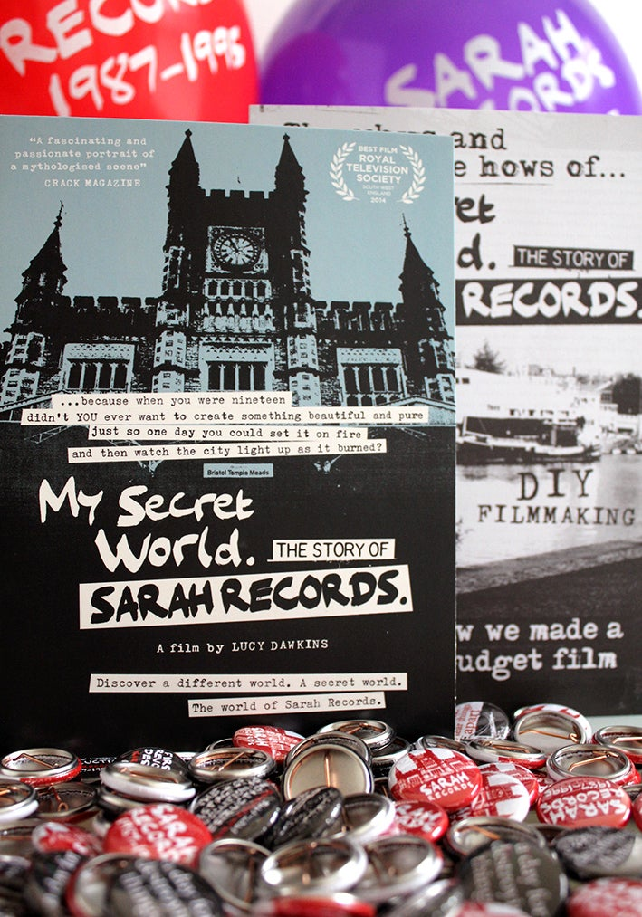 Image of My Secret World. The Story of Sarah Records. Limited Edition DVD