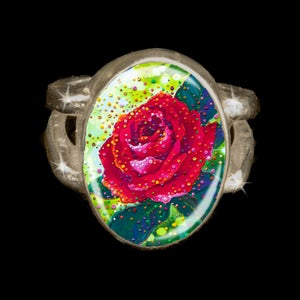 Image of The Sacred Rose Energy Ring