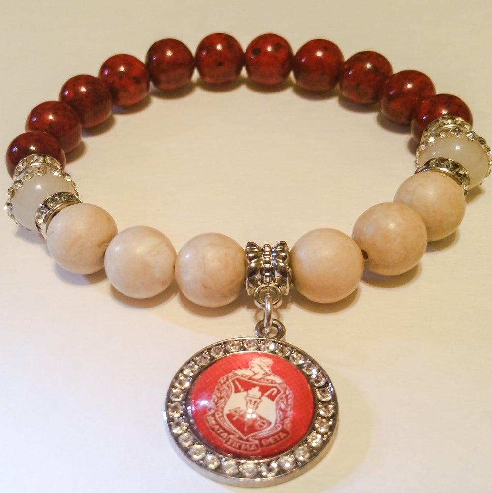 "Image of Delta Sigma Theta Inspired ""Neo"" Armcandy Bracelet"