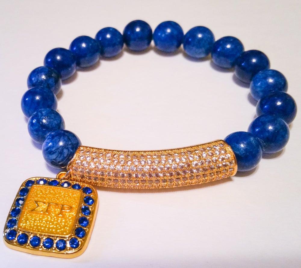 "Image of Urban Ellegance ""Alumni"" Sigma Gamma Rho ArmCandy Bracelet"
