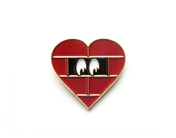 Image of Prisoner Of Love Lapel Pin