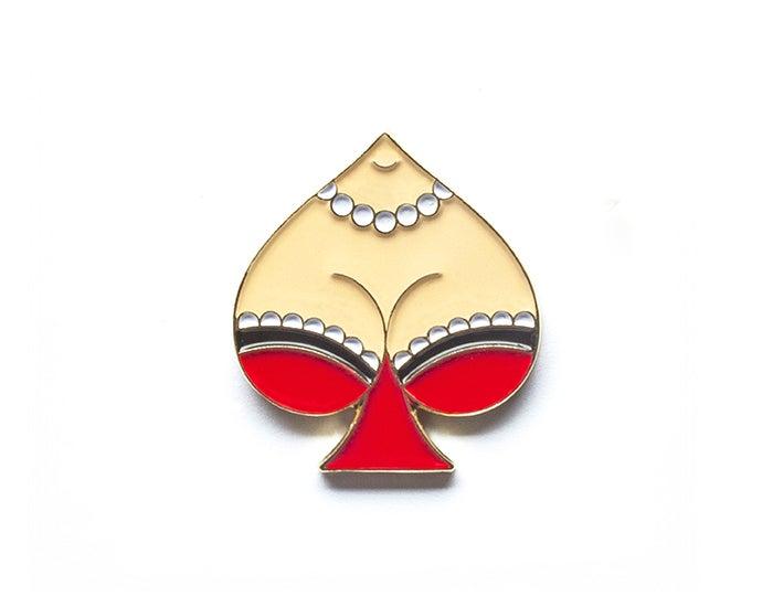 Image of Spade Lapel Pin