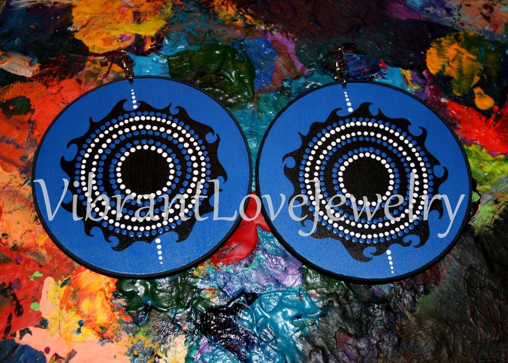 """Image of """"Soular Flare"""" earrings!"""