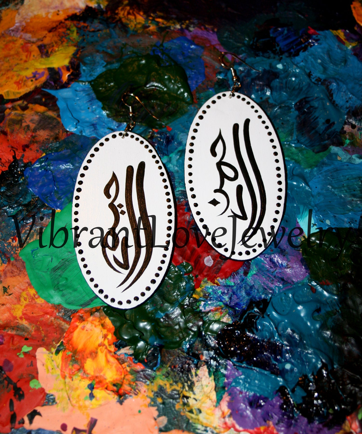 "Image of ""God's Compassion & Mercy"" Earrings!"