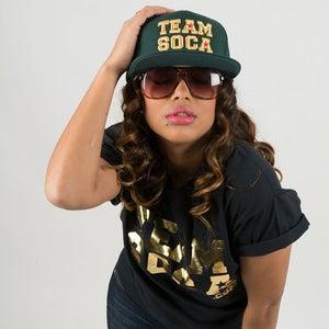 Image of Team Soca Hat Version 1 (Gold Edition)
