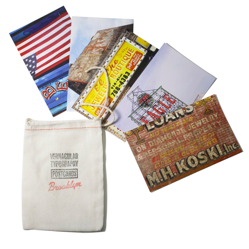 Image of Brooklyn Postcard Set