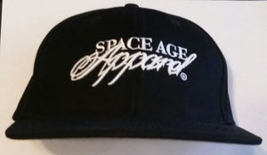 Image of Space Age  Script Snapback