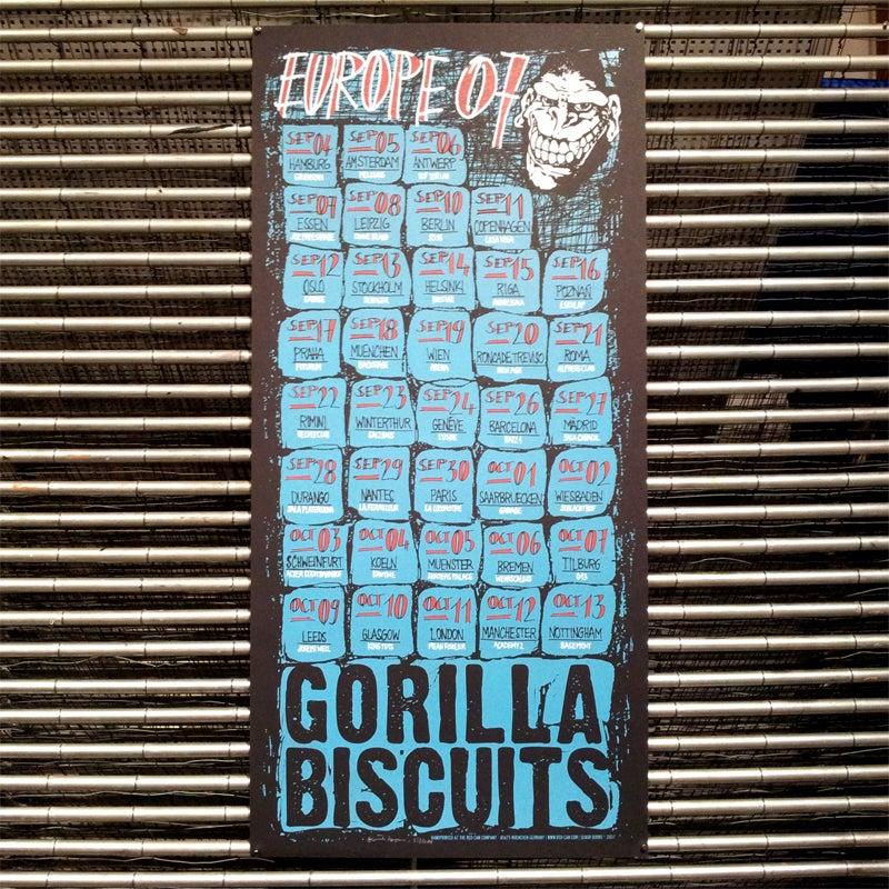 Image of GORILLA BISCUITS (europe 2007)