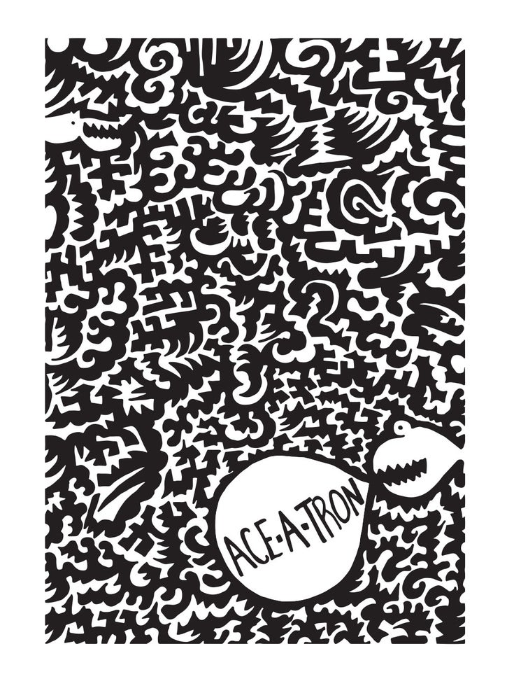 Image of Ace-a-Tron Reversed - Art Print