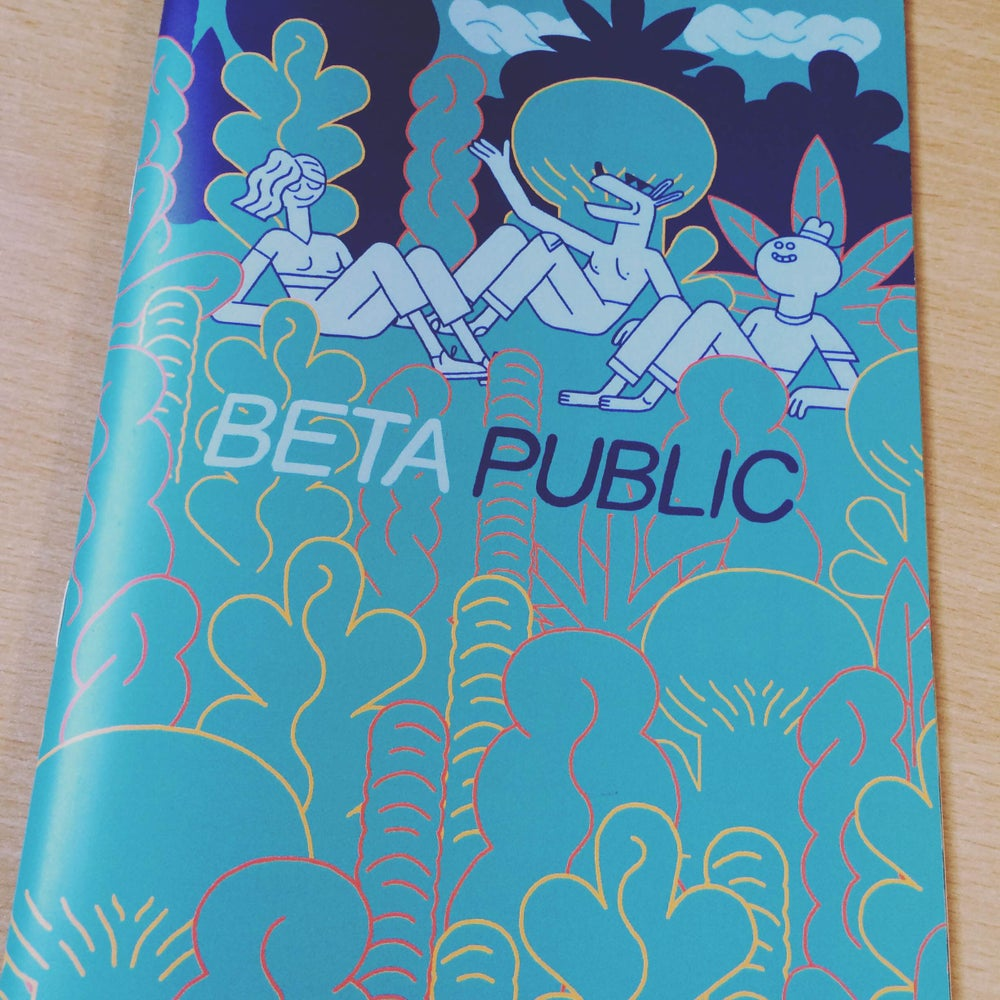 Image of Beta Public Zine