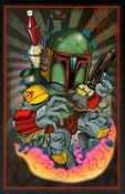 Image of Digital Fett print