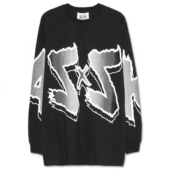 Image of ASxSK T-shirt - Black