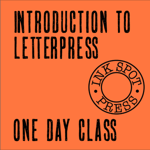 Image of Introduction to Letterpress, One Day Course. March 19th. 10am - 4pm £80.00