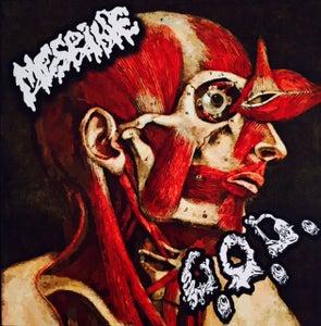 """Image of MESRINE / G.O.D. - SPLIT 7"""" EP (RED VINYL)"""