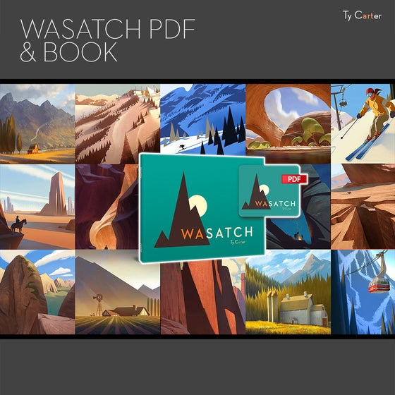 Image of Print + Digital Copy of Wasatch