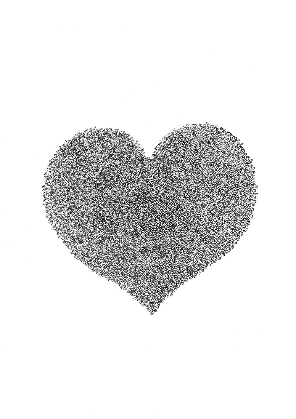 Image of Hearts on hearts