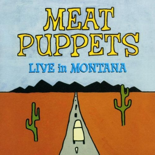 "Image of MEAT PUPPETS ""LIVE IN MONTANA"" CD"