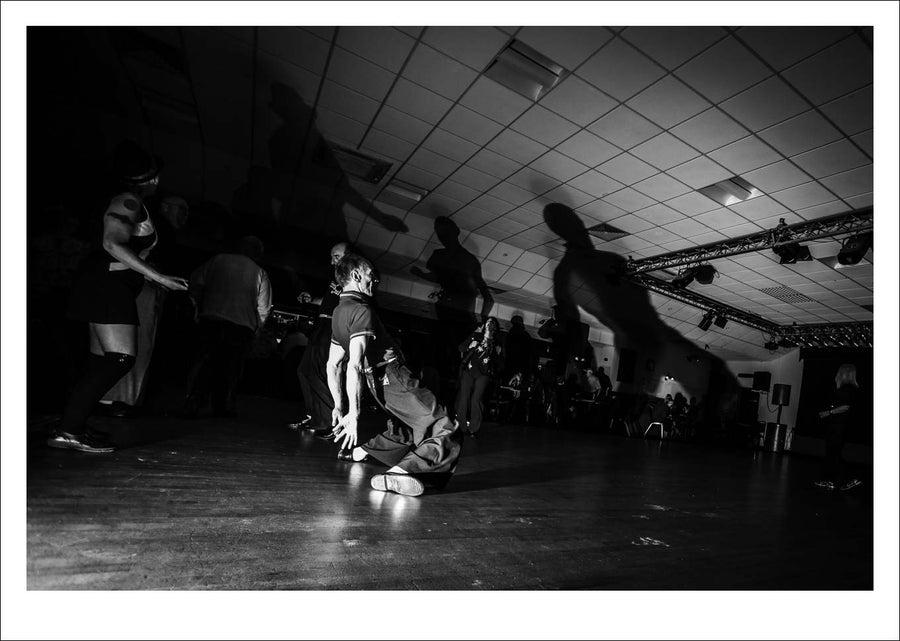 Image of Drax Northern Soul Club print .