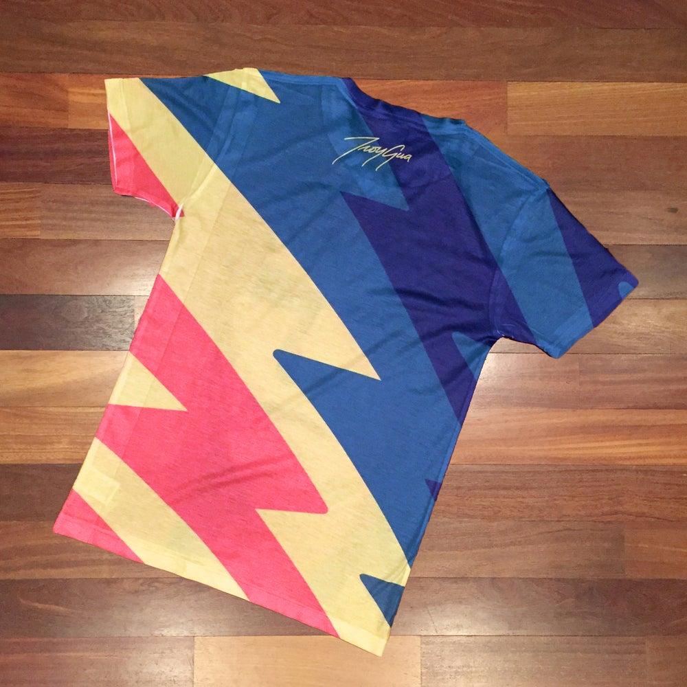Image of Troy Gua 'Changes' Pop Hybrid V-Neck T-Shirt