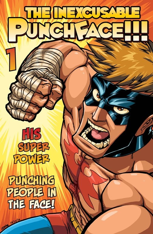 Image of PUNCHFACE!!! issue #2