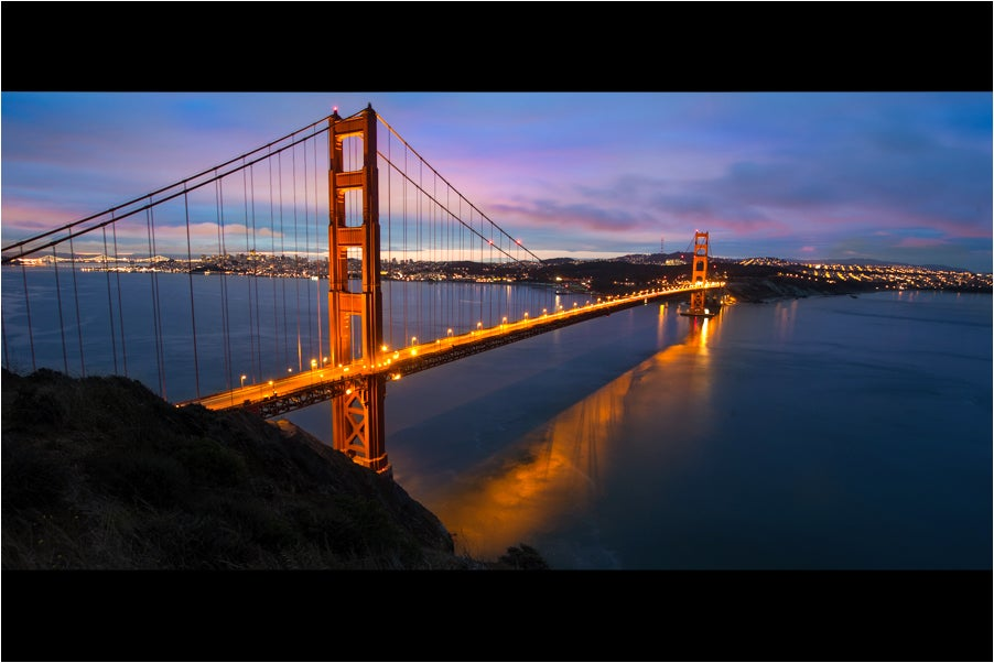 Image of Golden Gate at Sunrise