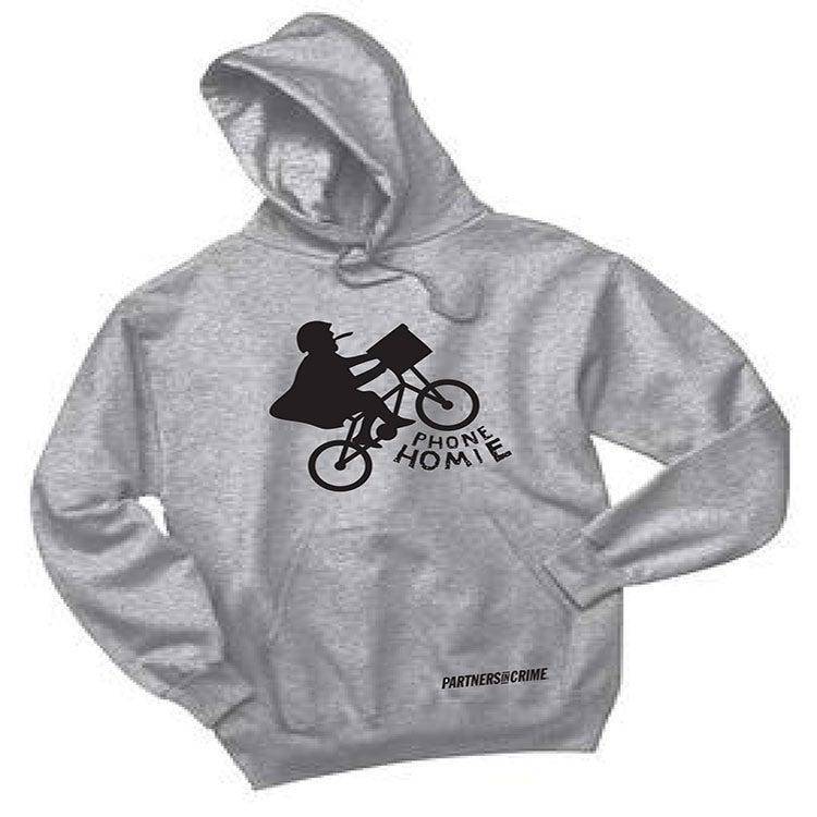 Image of BACK IN STOCK!!! Phone Homie Biker Sweatshirt!!!