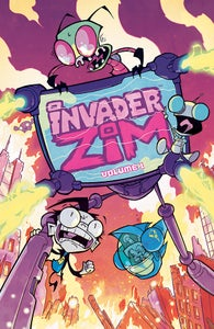 Image of INVADER ZIM: VOLUME 1 signed paperback