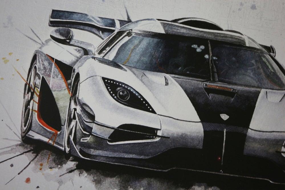 Image of Koenigsegg One:1 Poster Print