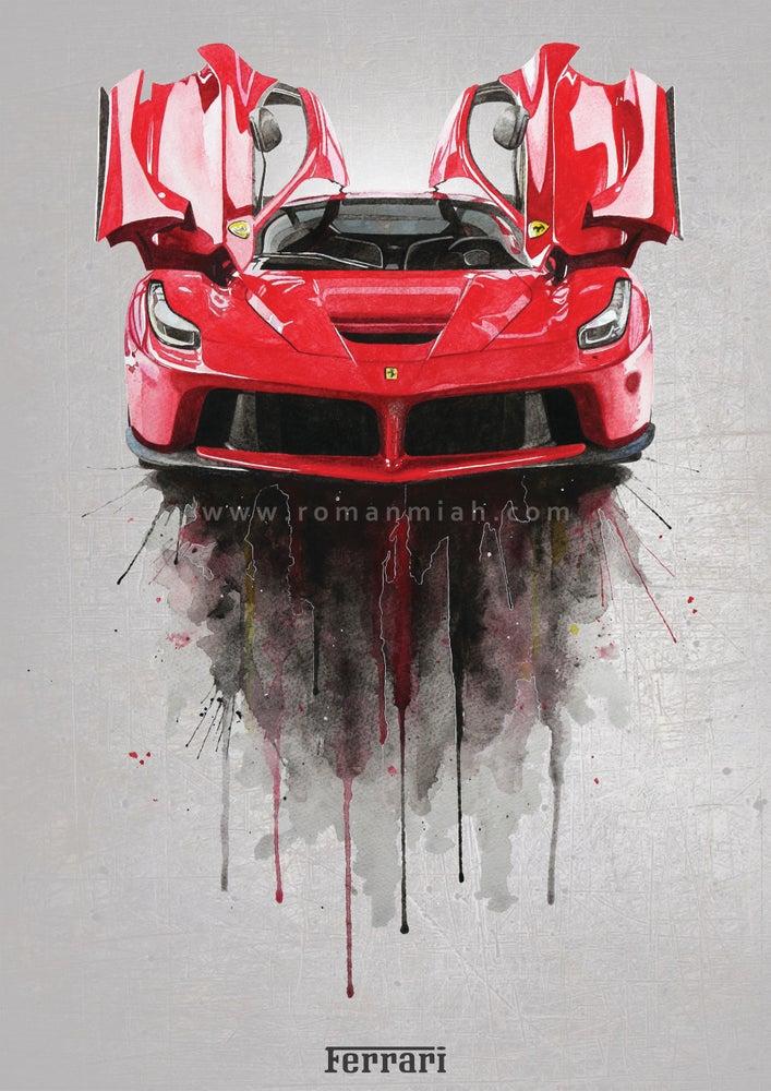 Image of Ferrari LaFerrari Poster Print