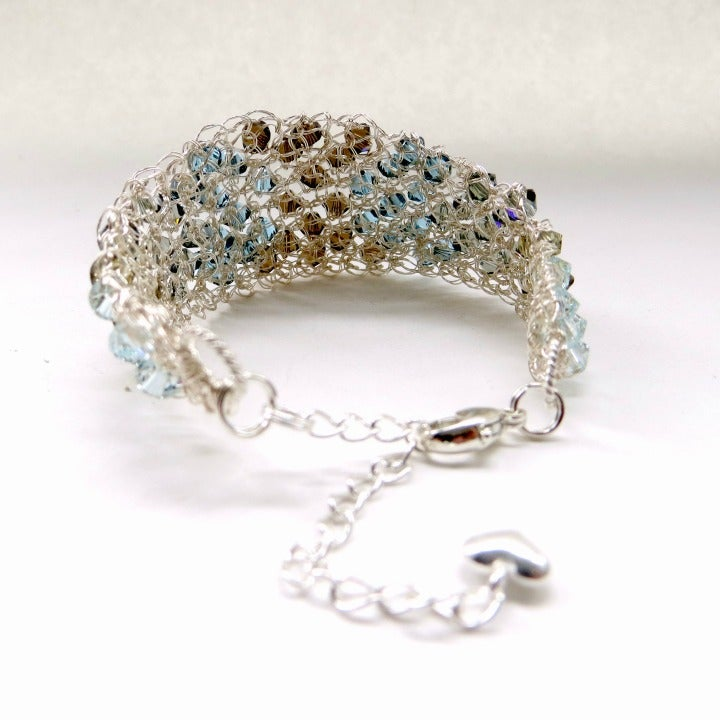 Image of Graduated wire bracelet - Vintage
