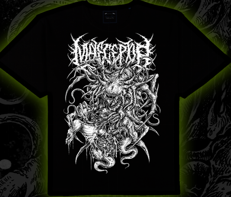 "Image of MALECEPTOR ""22 Incher In The Sphincter"" Tee"