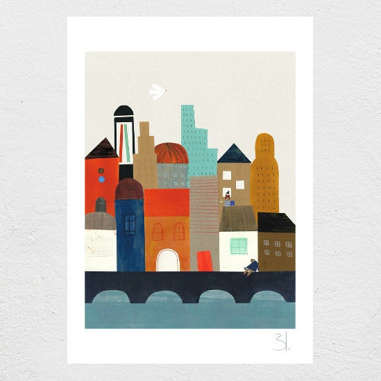 Image of Imaginary City Print