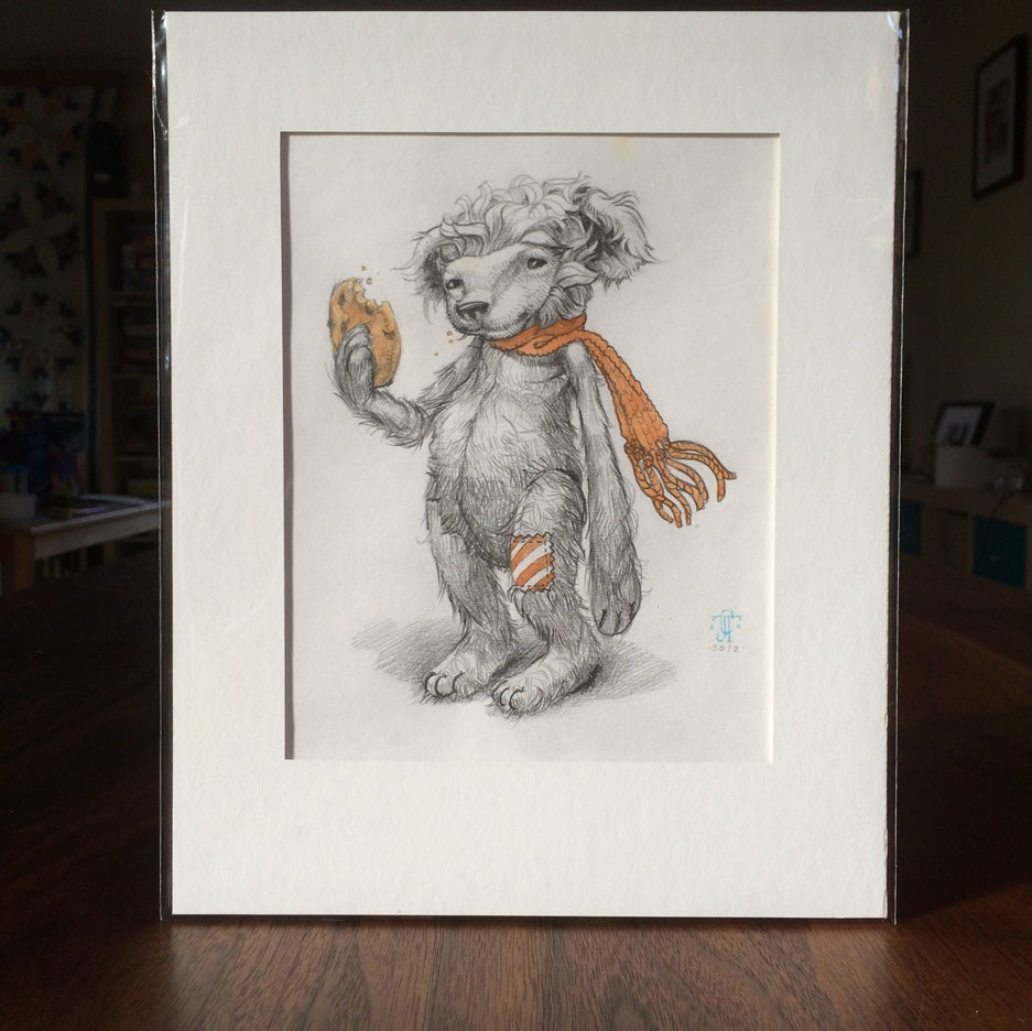 Image of Sketch - teddy bear