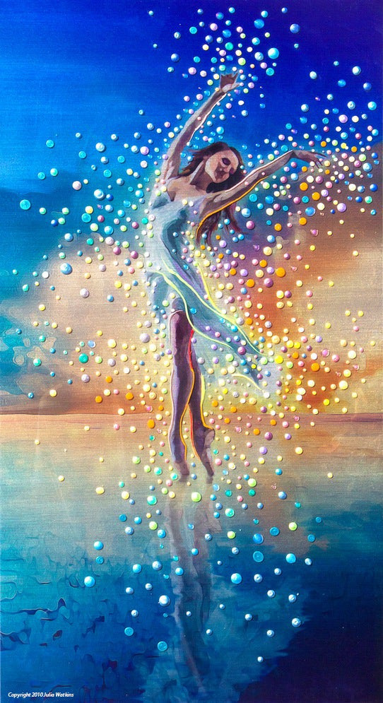 Image of Water Dancer - In each of us is a bright and boundless spirit - Print