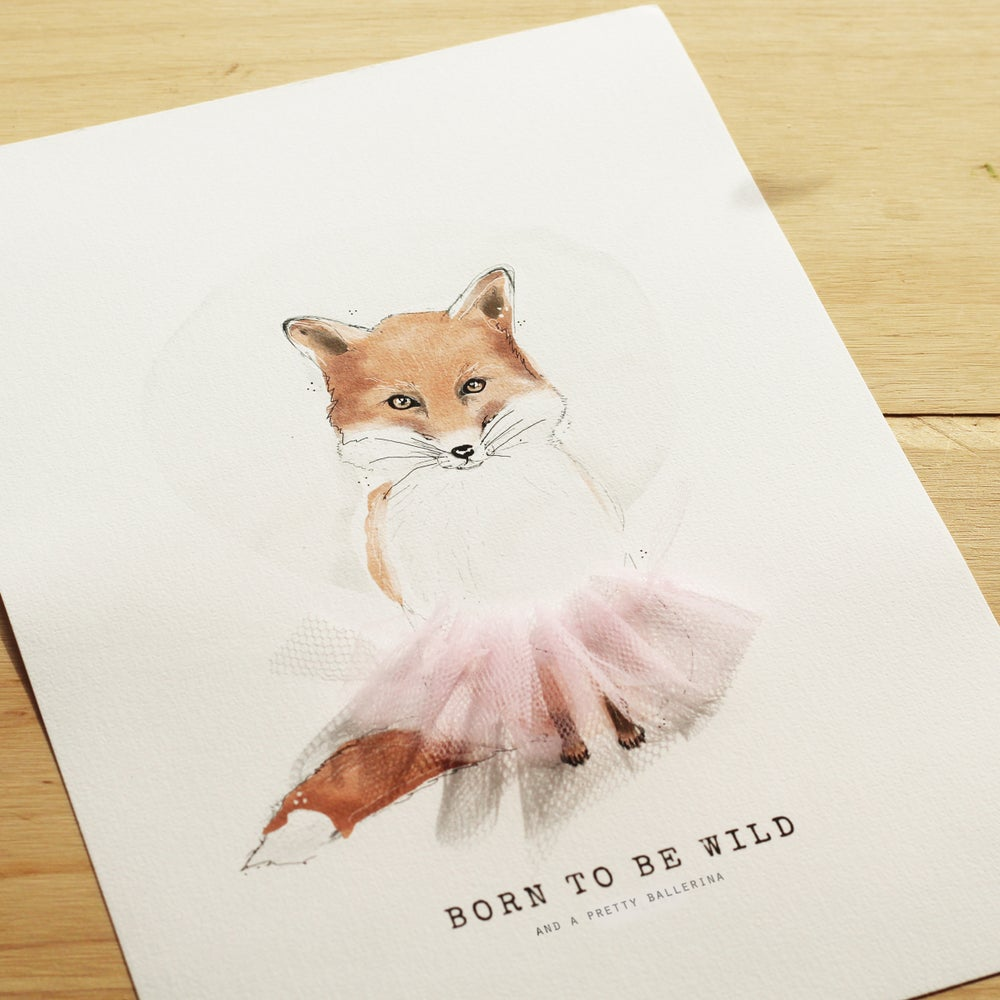 Image of ART PRINT | BORN TO BE WILD