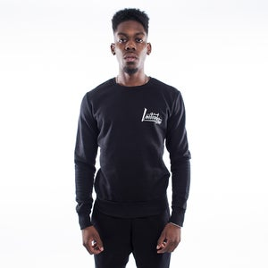 Initial One Black Street Edge Sweatshirt - FREE UK DELIVERY