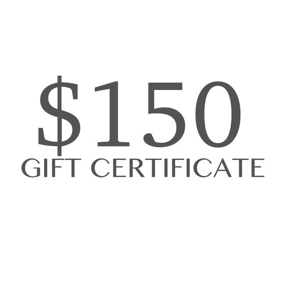 Image of $150 Gift Certificate