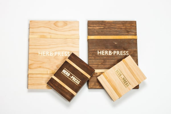 HERB-PRESS - Large Aged - arminho