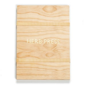 HERB-PRESS - Large Natural - arminho