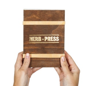 Herb-press - small aged - arminho